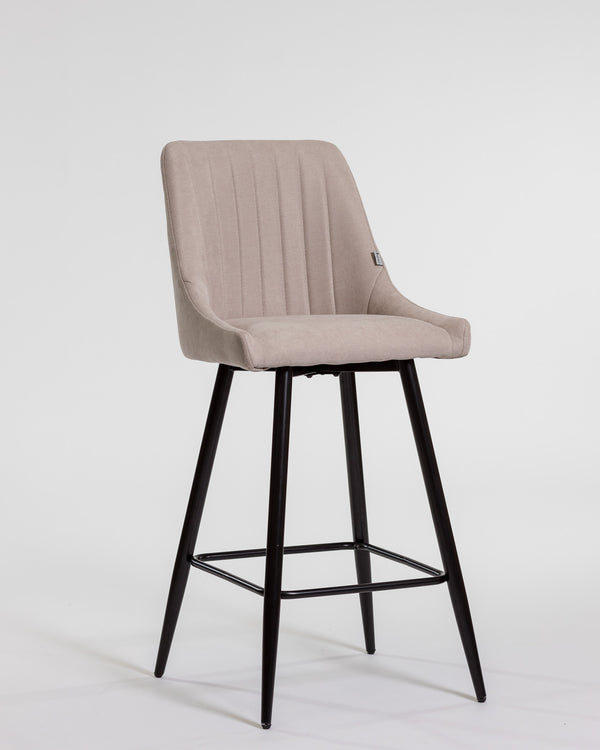 Gracie Bar Stool Chair - Cream
