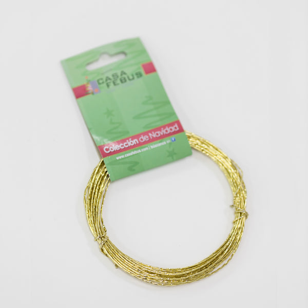 Single Twisted Wire - Gold Color