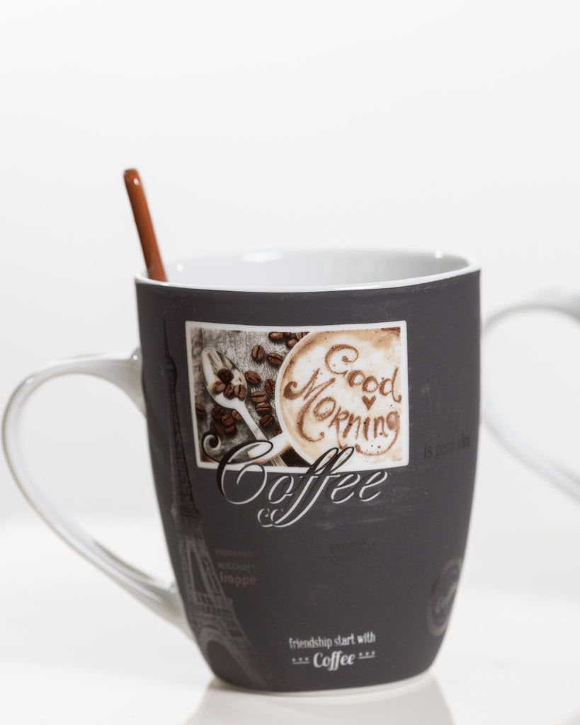 12oz Coffee Styles Set/4 - Coffee Time Collection