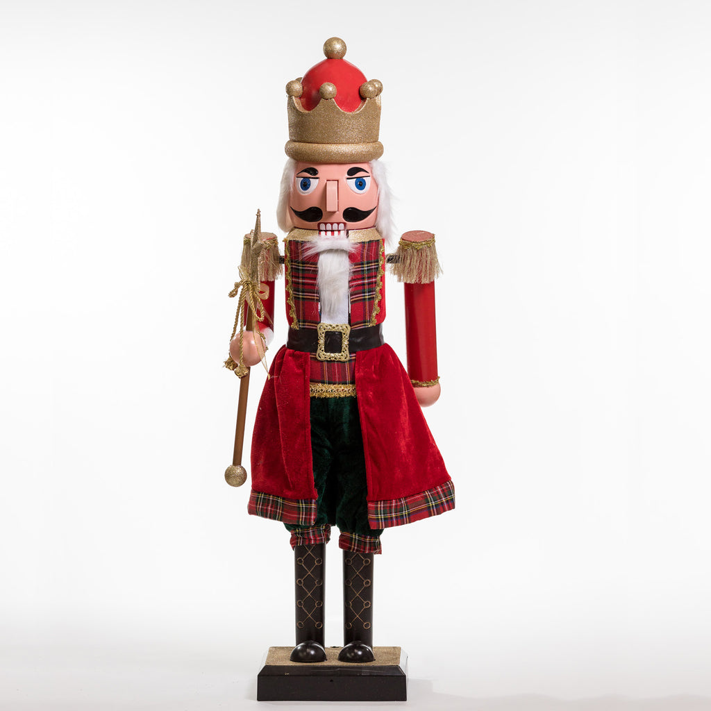 "44"" Nutcracker A w/Movement and Music - Cheerful Collection"