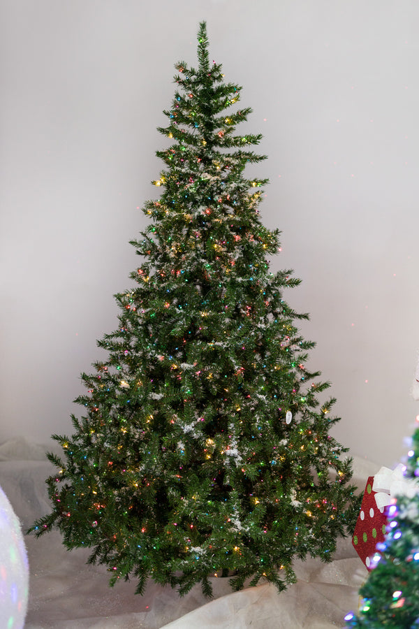9' Christmas Tree with 850 Multi Color lights