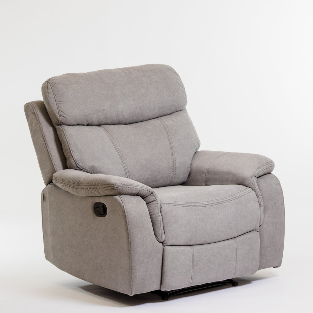 Alexi Deluxe Recliner Chair - Gray