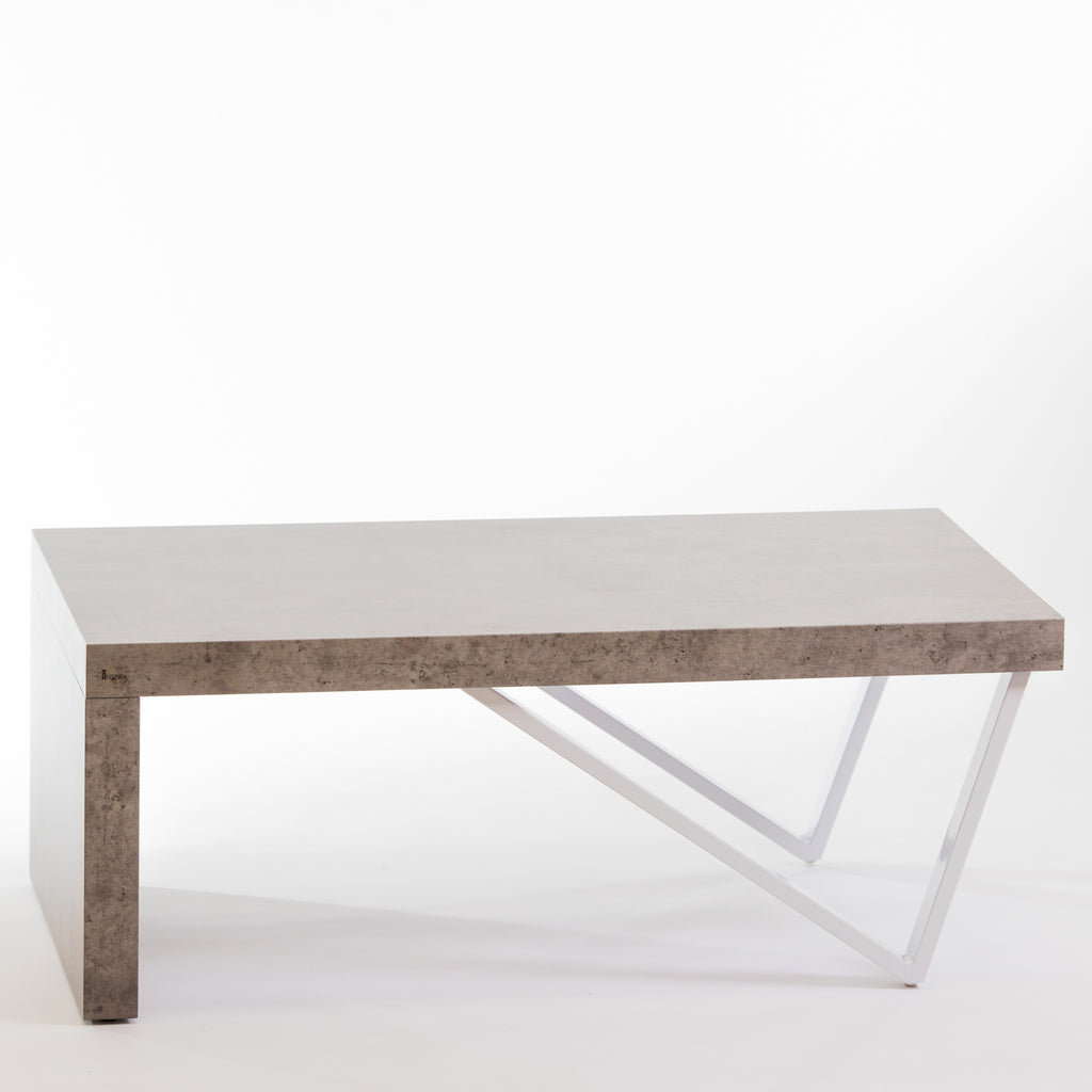 "43"" Bela Coffee Table - Cement"