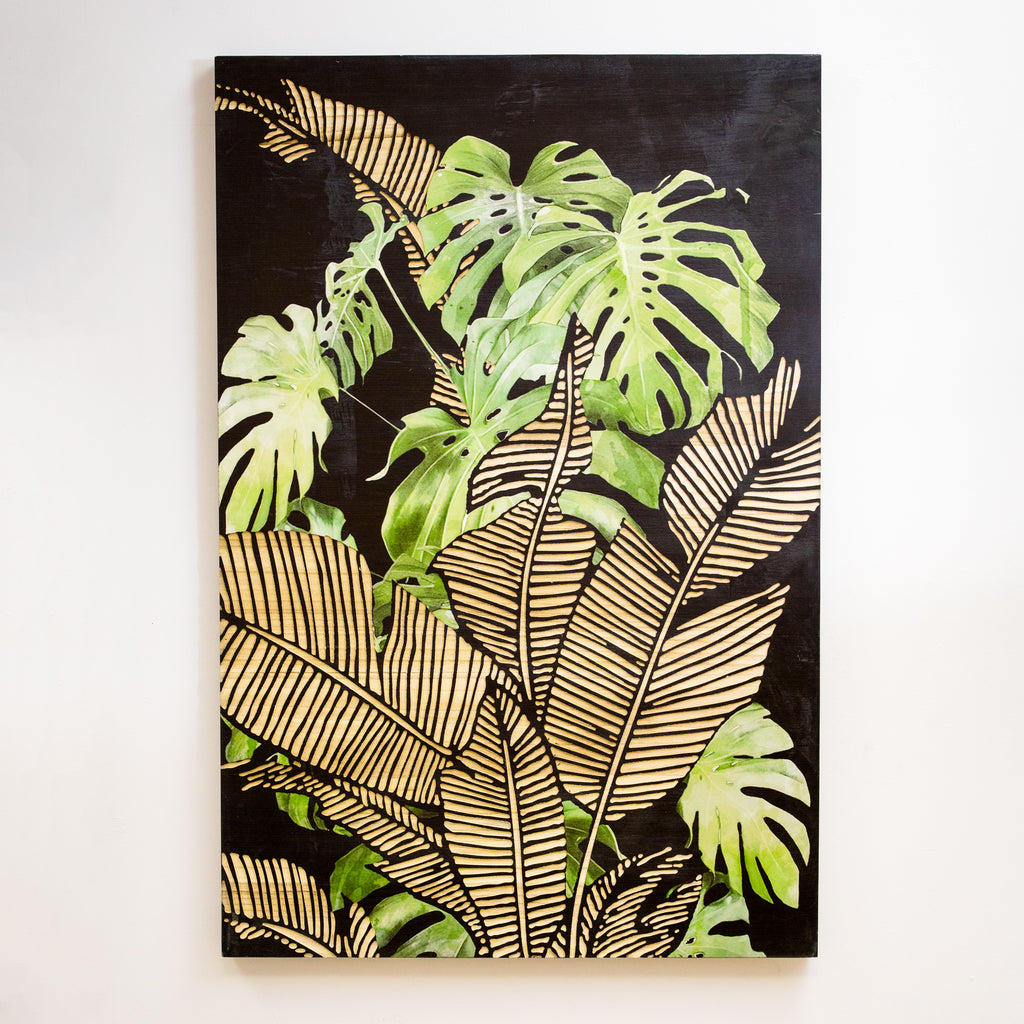 Tropics Wood Wall Art