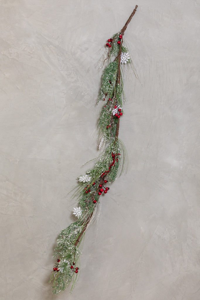 "22""L x 4""W - Berry Christmas Garland"