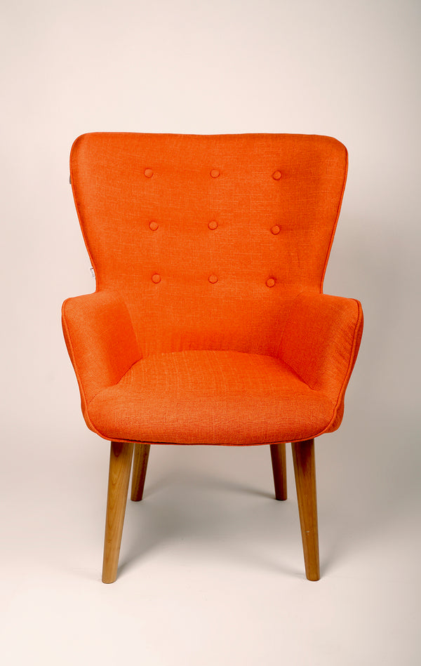 Julie Armchair- Orange