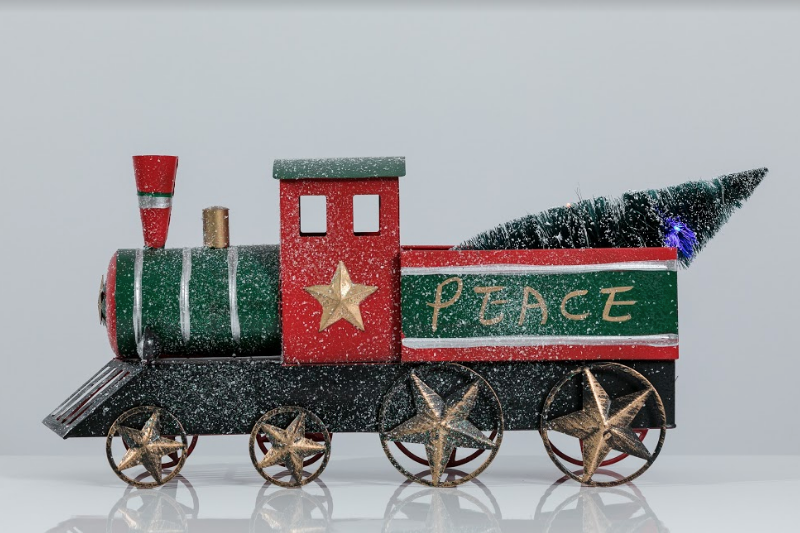 "24"" Train with Tree - Voiture Collection"