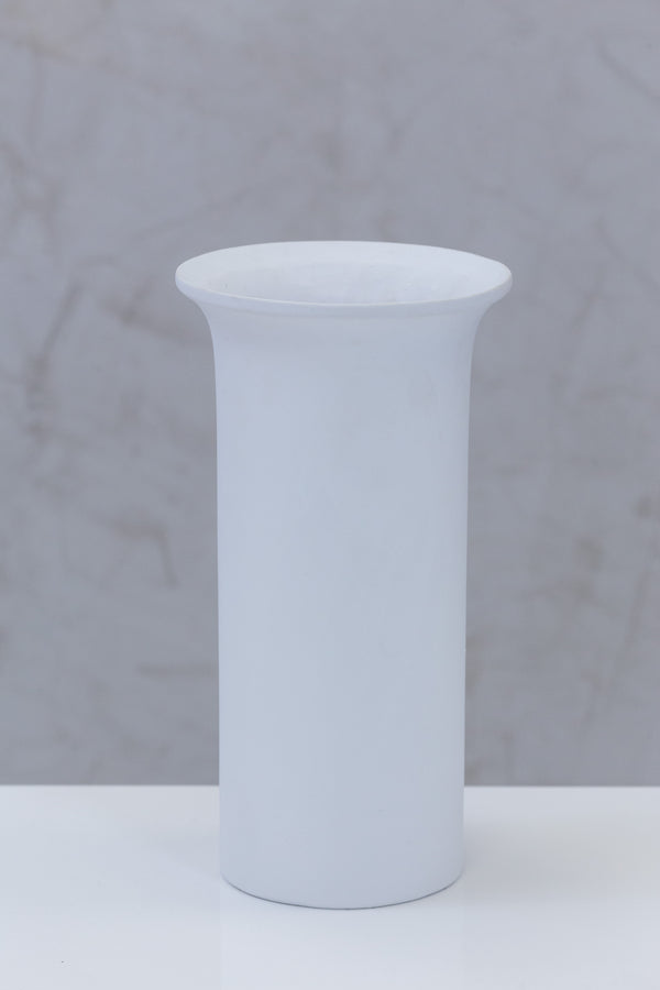 "11"" Flusso Long Pot - Matt White - Casa Febus - Home • Design"