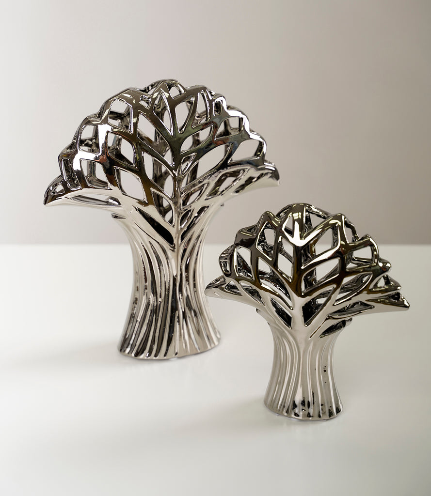 "11"" Silver Wondering Tree - Piscitelli Collection"