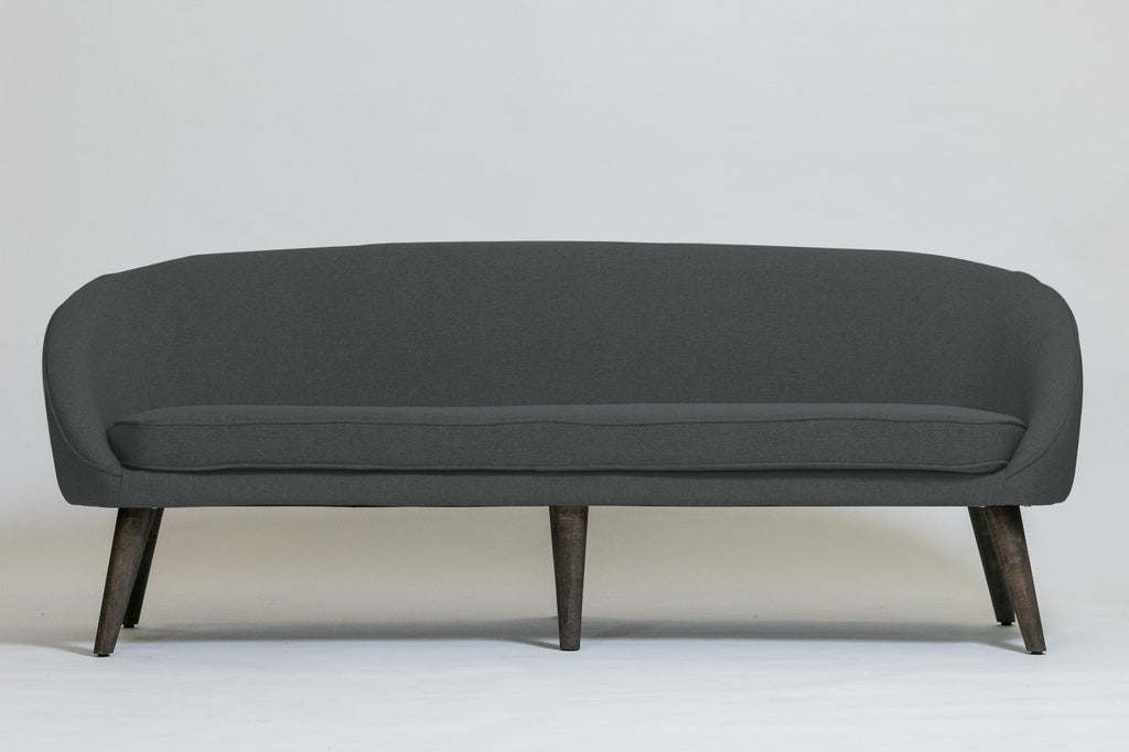 Lisbon Sofa Set - Charcoal Gray (2 butacas + sofá)