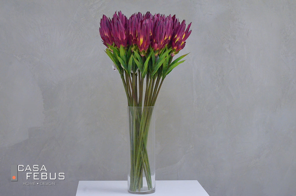 "Ginger Flower Stem Violet- 32"" - Casa Febus - Home • Design"