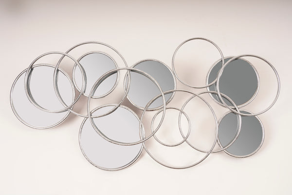 Silver Rings Mirror - Metalle Collection