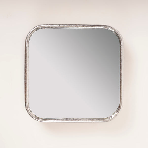 Silver Squircle Mirror - Metalle Collection