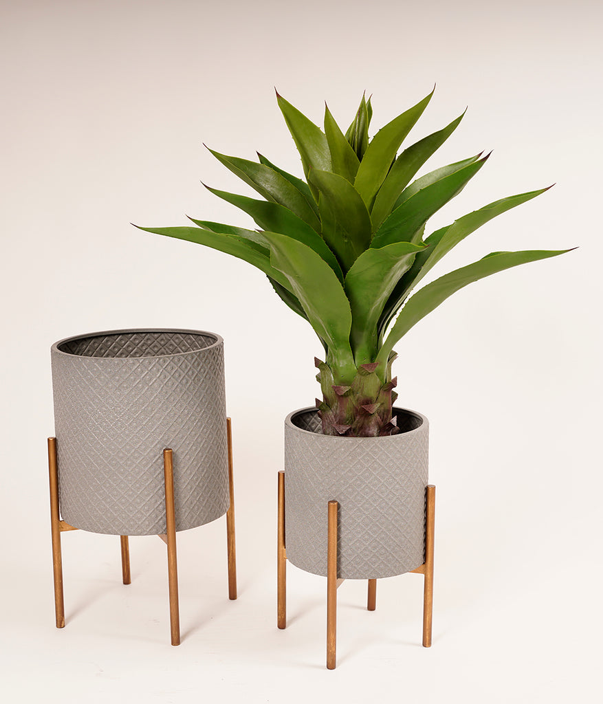 Metalle Trendy Planter