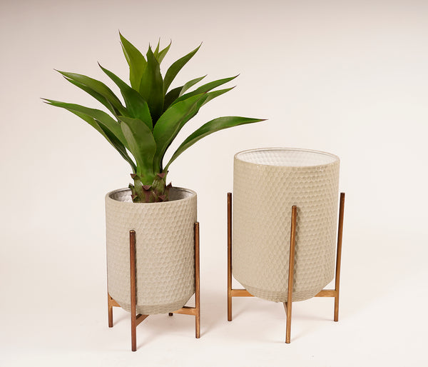 MetalIe Moderne Planter