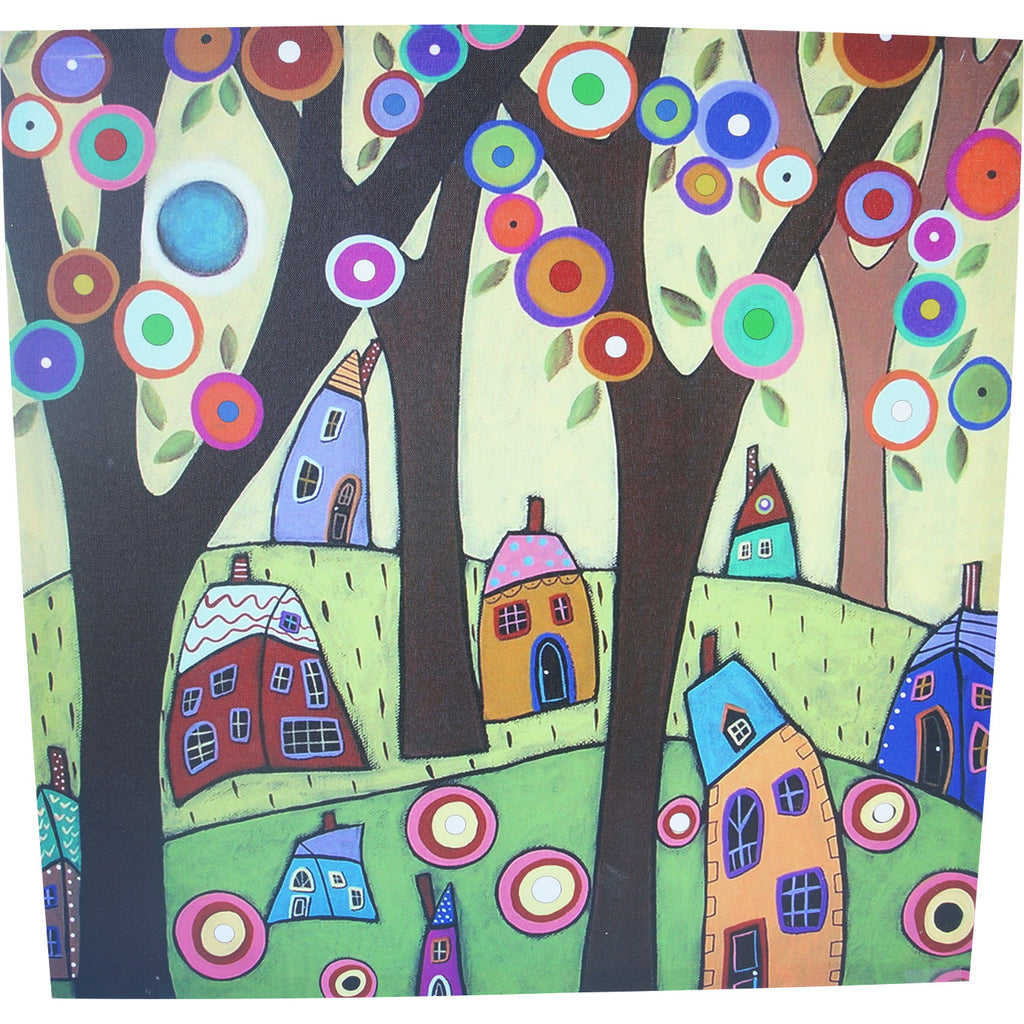 "Coloré Canvas - Houses in Forest/24"" x 24"" - Casa Febus - Home • Design"
