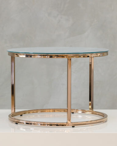 "24"" Arrondi Round End Table - Gigi Collection"