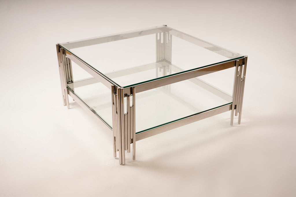 Coffee Table Clear Glass - Gemma Collection