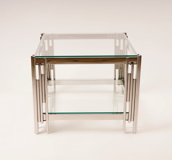 End Table Silver - Gemma Collection