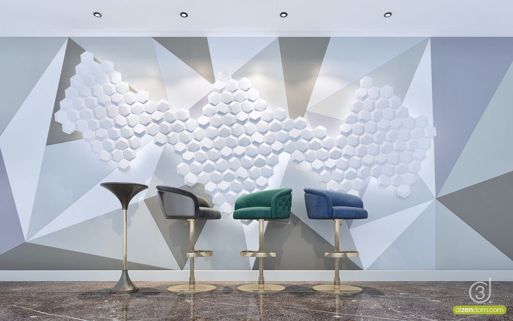 Wall Moda - Hexagon