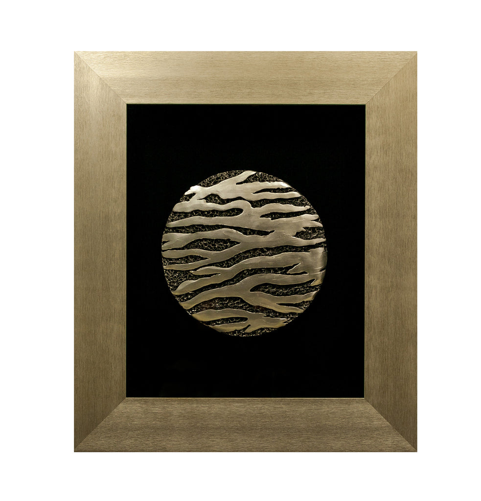 "Box Art Wall Décor - Moon - 25"" x 29"" x 6""D - Casa Febus - Home • Design"