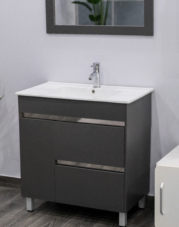 "Teigan Faucet Cabinet w/mirror & fittings 39"" -Nouveau Collection"