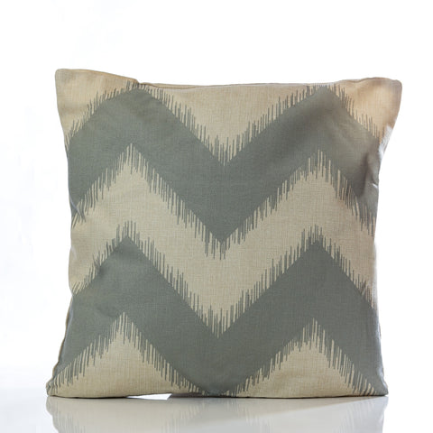 "Zig Zag Pillow - Gray 18"" x 18"" - Casa Febus - Home • Design"