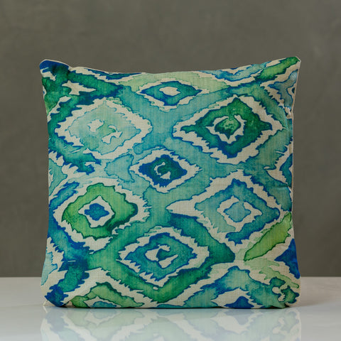"Acuarela Pillow - Green Combination 18""x18"" - Casa Febus - Home • Design"