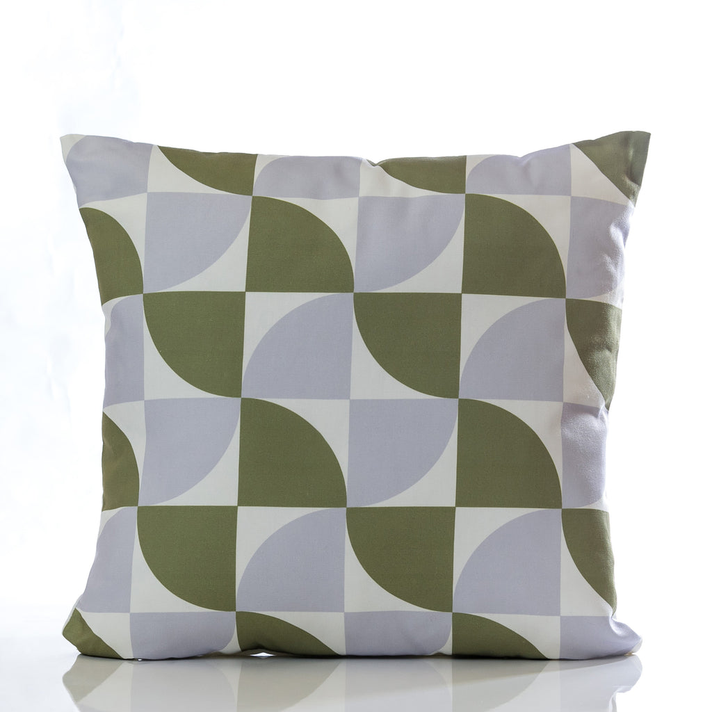 "Natura Pillow - Green Combination 18"" x 18"" - Casa Febus - Home • Design"