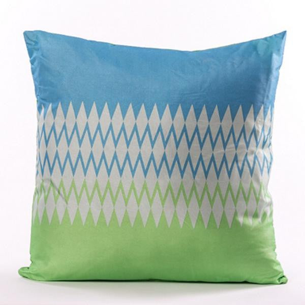 Brillant Cushion - Green and Blue - Casa Febus - Home • Design