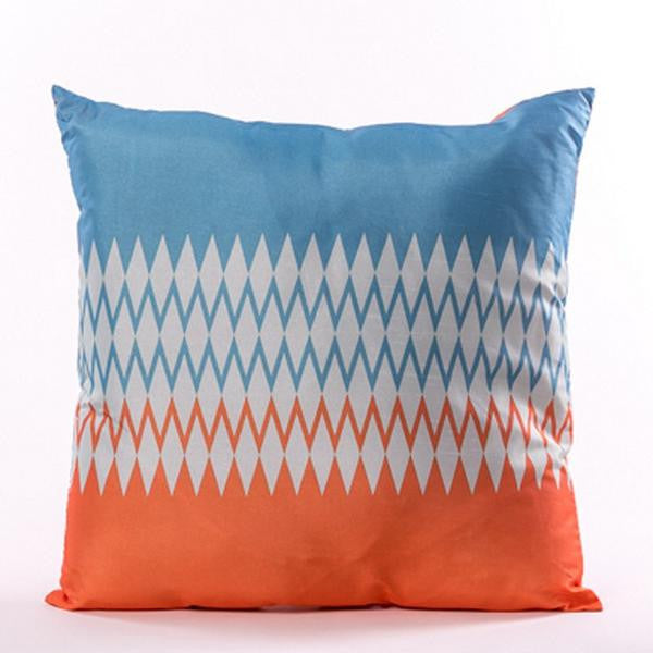 Brillant Cushion - Orange and Blue - Casa Febus - Home • Design