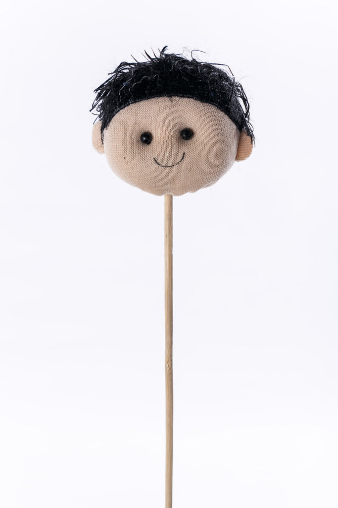 """José"" on wood stick - 2.5"" - Casa Febus - Home • Design"