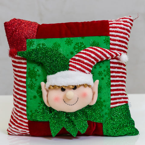 "Happy Elf Pillow Too / 13.8""x13.8"" - Casa Febus - Home • Design"