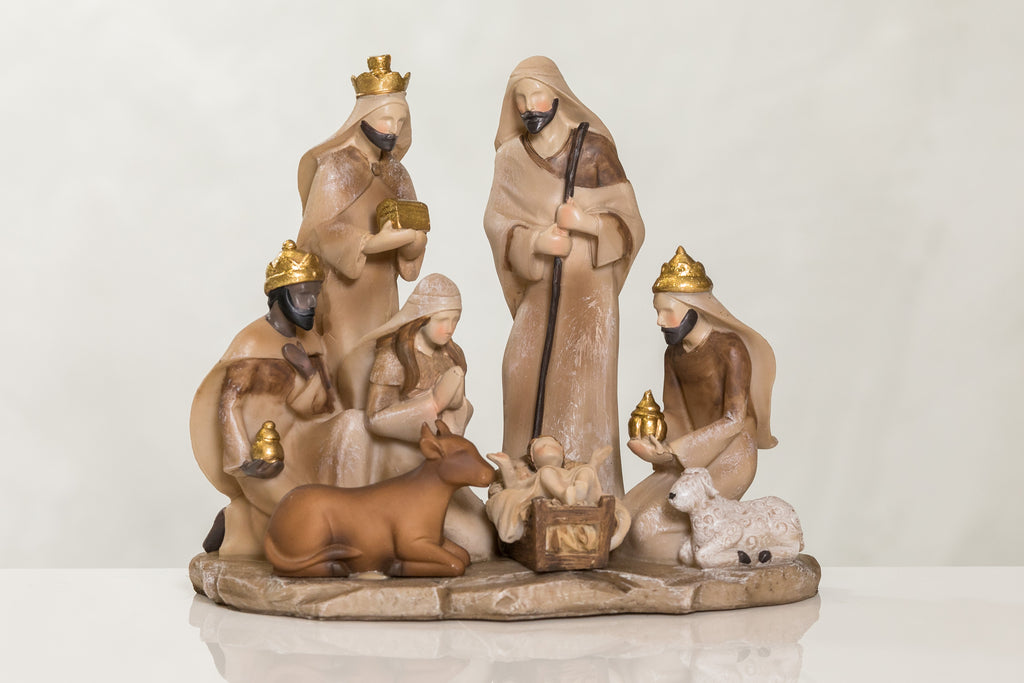 "9"" Joy Collection - Nativity D & 3 Kings"