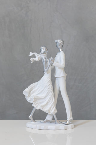 "14"" Nantes Dancing Couple - In the Wind Collection"