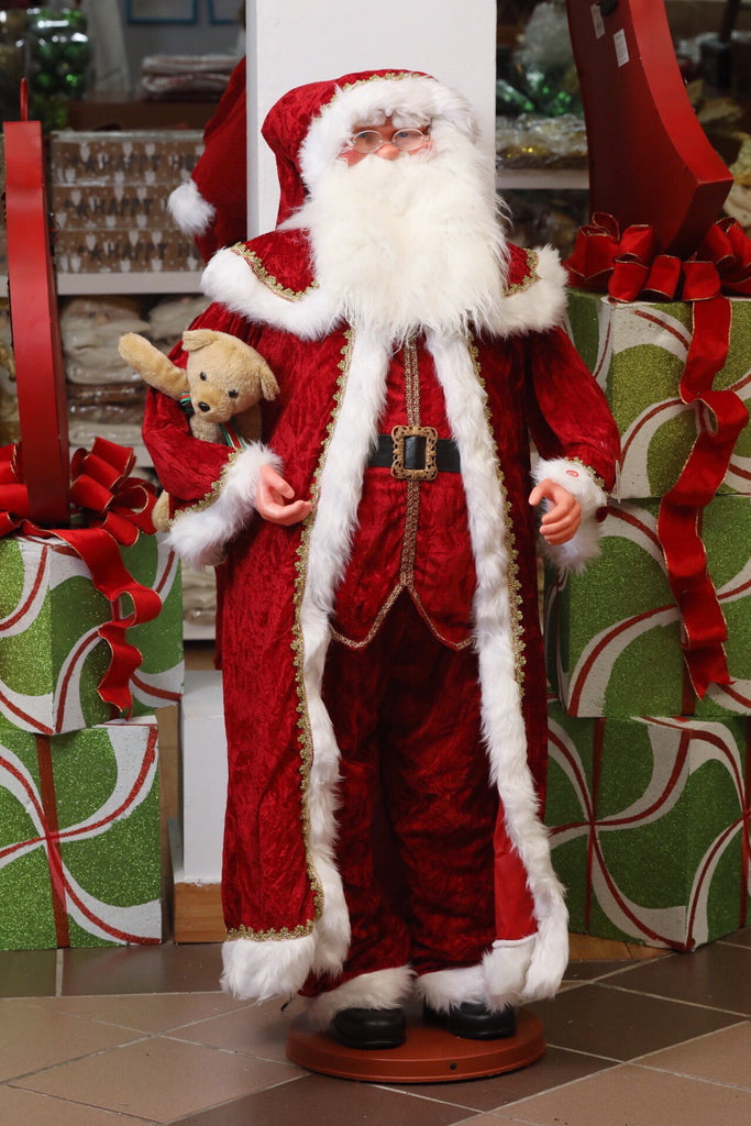 "40"" MD Musical Santa with movement"