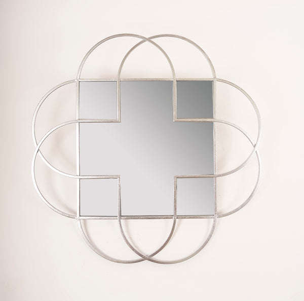 Silver Nuage Mirror - Metalle Collection