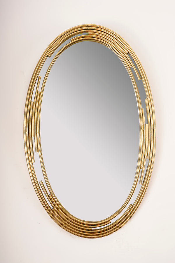 Gold Round Bracelet Mirror - Metalle Collection