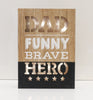 "12"" Dad the Hero Light Box - Battery Operated - Casa Febus - Home • Design"