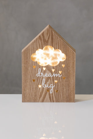 "10""  Light Box - Dreams - Battery Operated"