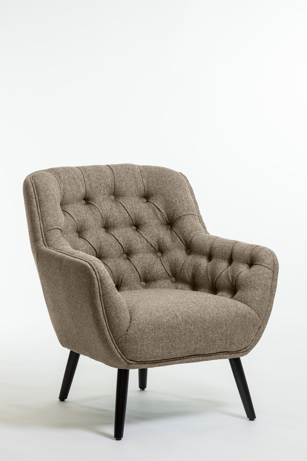 Hannah Arm Chair- Taupe