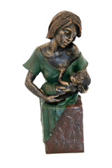 Bronze Mother and Baby B
