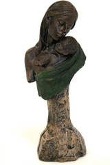 Bronze Mother and Baby C