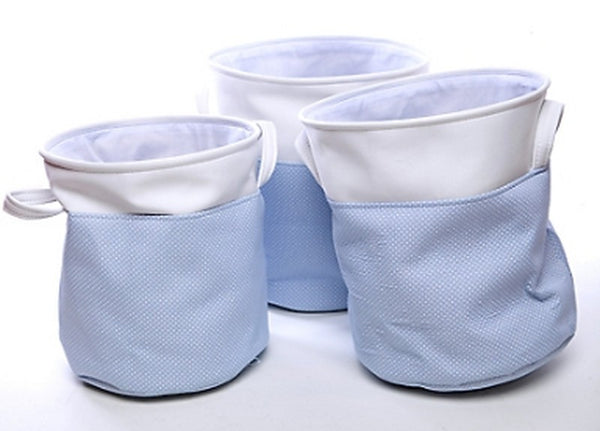 Baby Blue Triple Baskets - Casa Febus - Home • Design