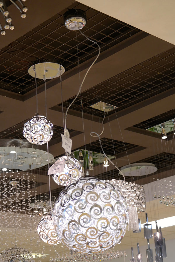 "Lulu Ceiling Lamp 16""D - Casa Febus - Home • Design"
