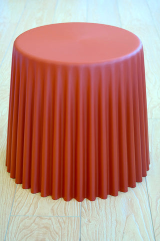 "Cup Cake Table/Base - Toasted Orange 16""H - Casa Febus - Home • Design"