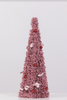 "7"" x 18"" Red/White Tree Cone - Peppermint Collection"
