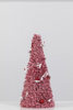 "8"" x 24"" Red/White Tree Cone - Peppermint Collection"