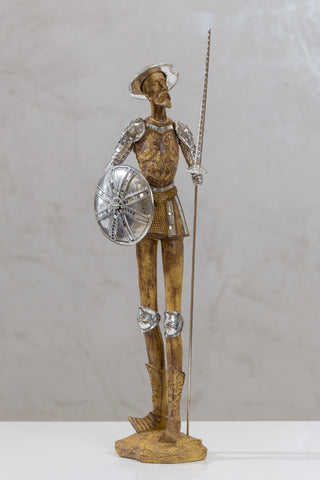 "23"" Standing Don Quijote with shield"