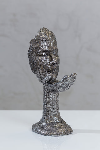 "12"" Silver Figurine - Guidance"